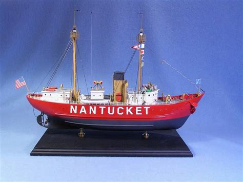 weighing boat deutsch bluejacket 1 96 scale nantucket lightship boat ship