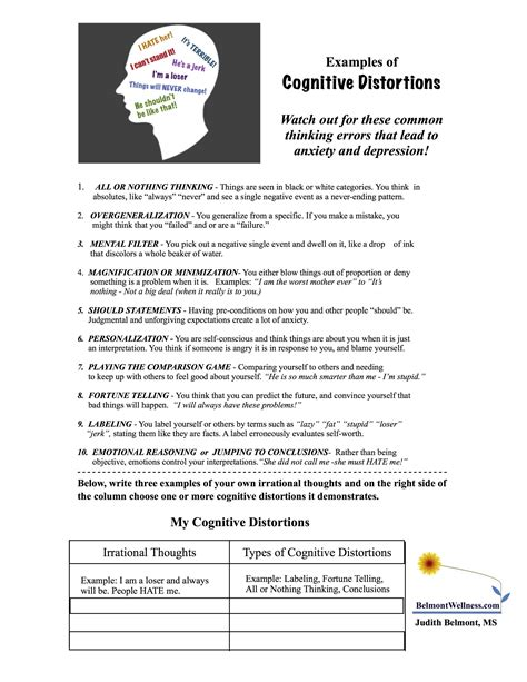printable stress quiz for adults cognitive distortions jpg 2550 215 3300 therapy