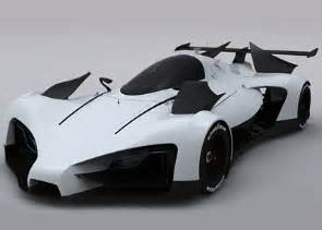 Electric Race Car Design Greengt Lemans Prototype Concept Cars Diseno