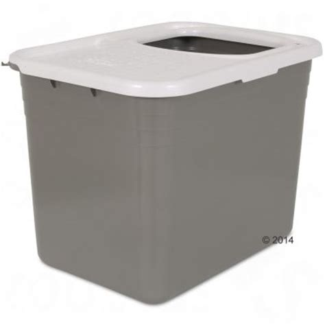 Cat Litter Box Otg Medium petmate katzentoilette top entry free p p 163 29 at zooplus