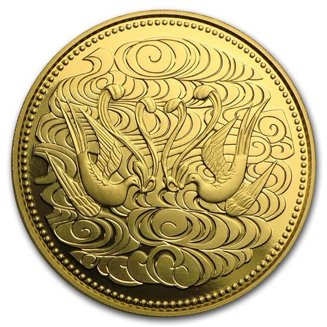 new year traditions gold coins 1986 japan gold 100k yen 60th year of the emperor on the