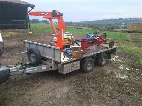 lucas swing lift crane for ifor williams large equipment arbtalk the