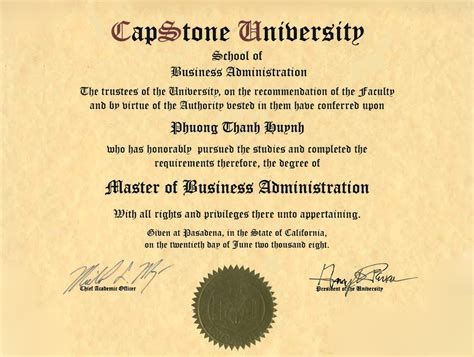 What Is Mba Capstone by Image Gallery Mba Degree