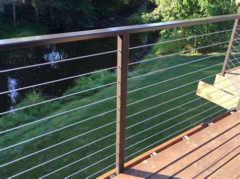 cable banister railing stainless steel cable handrail