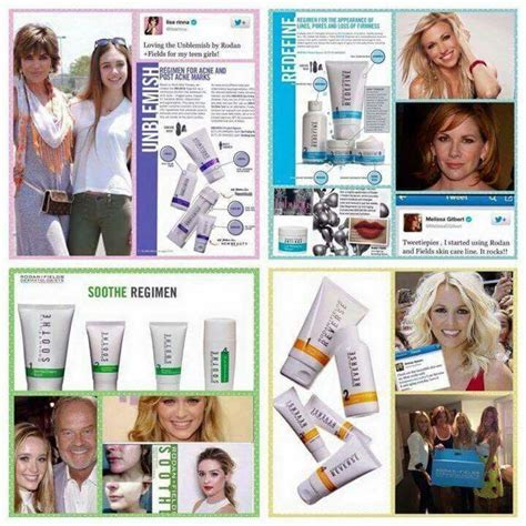 rodan and fields celebrity users 61 best rodan fields by khristina epperson images on