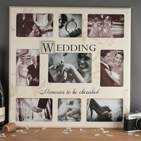 Wedding Gift Photo Frame by Wedding Memories Collage Frame Anniversary Gifts By