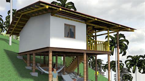 casa bambu casa ind 237 gena palafitica en madera y bamb 250 guadua doovi