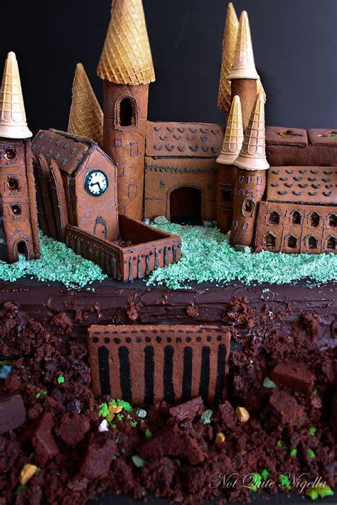 making hogwarts castle   gingerbread recipe