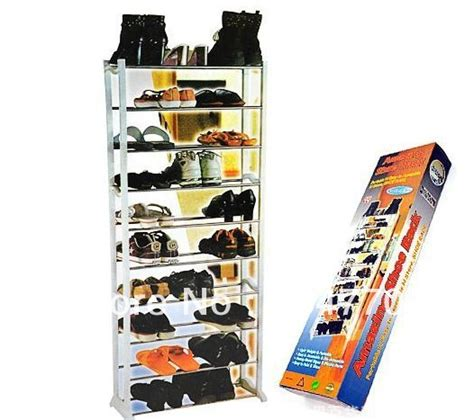 Dijamin Amazing Shoe Rack As Seen On Tv Rak Sepatu 10 Tingkat 10 layer amazing shoe rack in pp and metal can hold 30pairs shoes as seen on tv amazing