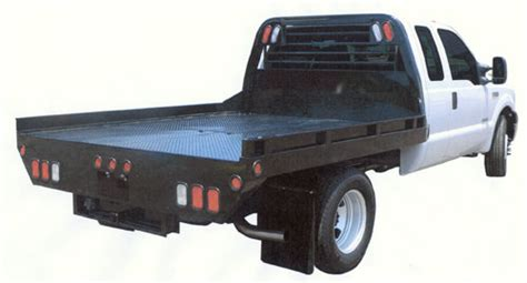 flat bed truck steel ss truck bed johnson trailer co