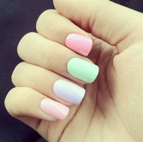 Pastel Nail Designs 15 pastel nail designs best new simple idea for