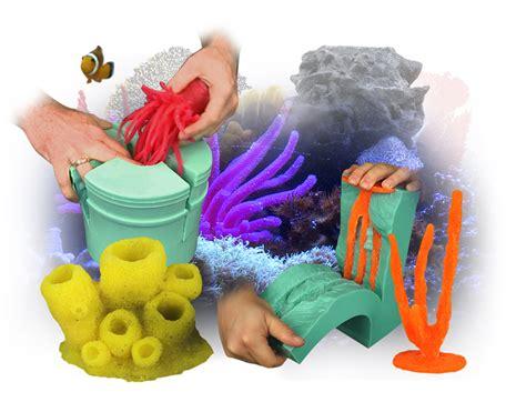 Decoration Of Aquarium by Aquarium Decoration With Smooth On Materials