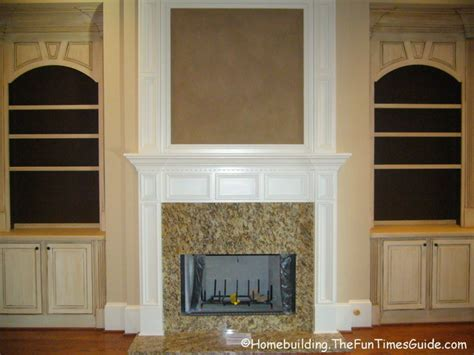 built in bookshelves add a quality touch to custom homes