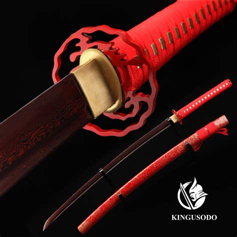 Real Handmade Swords - handmade japanese sword pattern steel authentic japanese