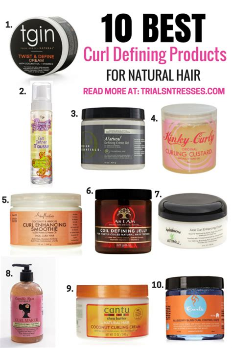 hair products to make hair curly for african amaerican hair 10 best curl defining products for natural hair natural