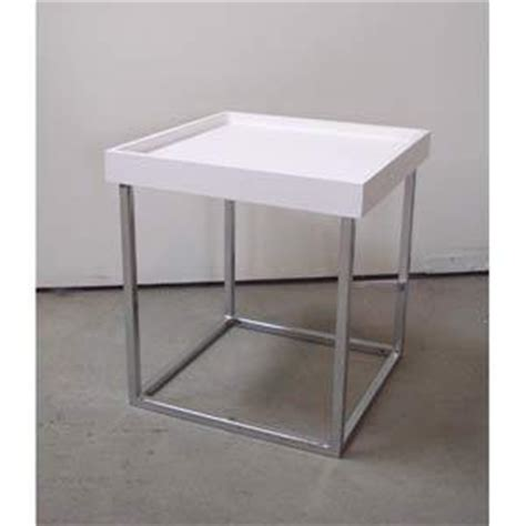 small white table l small white stack table in accent tables from bellacor