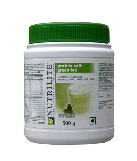 Protein Amway 2017 Amway Nutrilite Protein Powder With Green Tea 500g