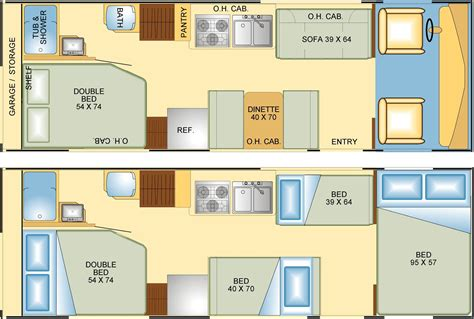 floor plans for rvs rv floor plans google search route 66 pinterest rv