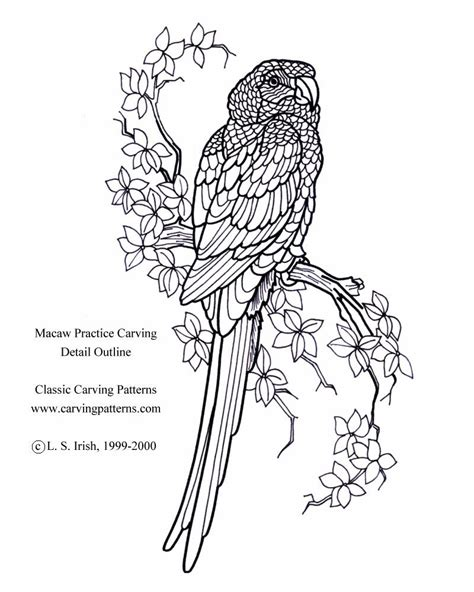 owl wood carving patterns free