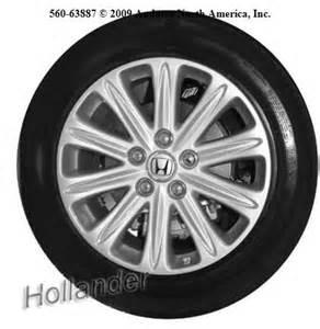 2005 Honda Odyssey Tire Size 2005 Honda Odyssey Exl Tire Size