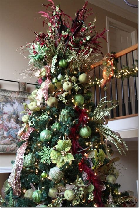 feature friday ruby s big and festive foyer tree