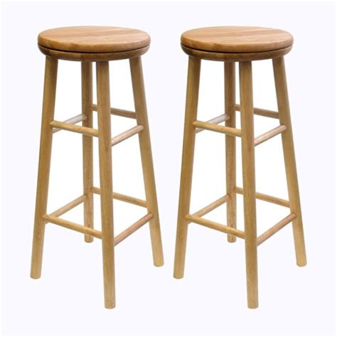 Winsome Bar Stools by Shop Winsome Wood Set Of 2 Bar Stools At Lowes