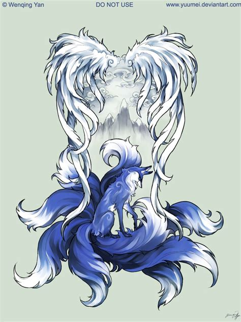 9 tailed fox tattoo 9 tailed fox commission by yuumei on deviantart