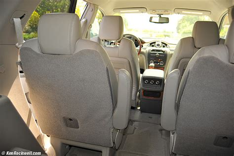 Back Seat by Buick Enclave