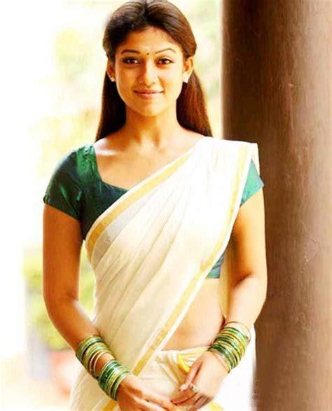 Nayanthara Sari New Hd Photo Free Download | download nayanthara hot in saree wallpaper hd free