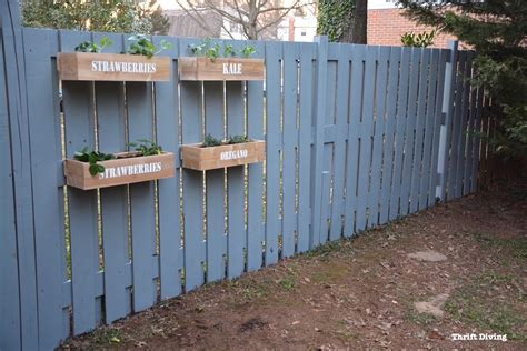 How To Make A Hanging Fence Garden Sponsored By Kilz Hanging Fence Planters