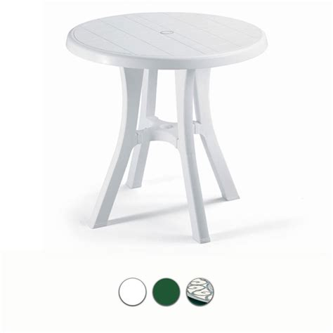 tavoli in resina da giardino tavolo da giardino pol 80 contract in resina by scab