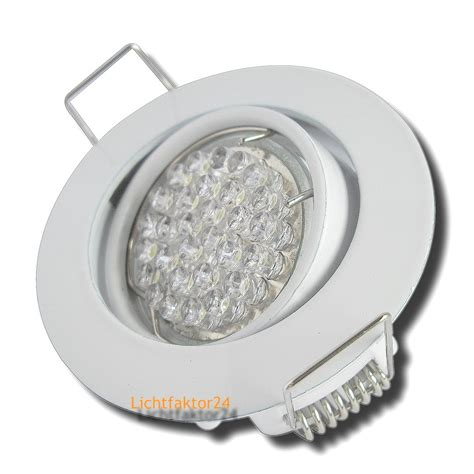 led deckenspots 63mm led deckenspots 12volt 1 5w 15w 120lumen 1 12er