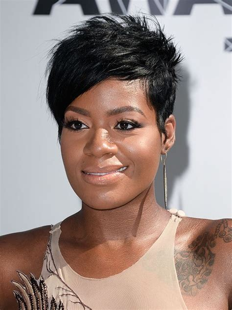 beautiful black women short hairstyle with sideburns gallery top 20 short hairstyles for black women hairstyles for