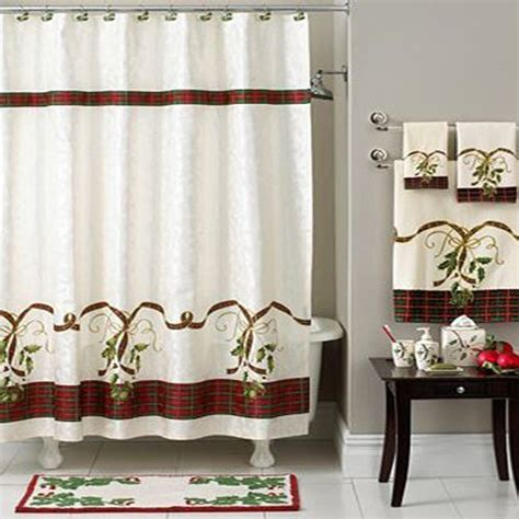 christmas shower curtains and towels christmas shower curtains shower curtains outlet