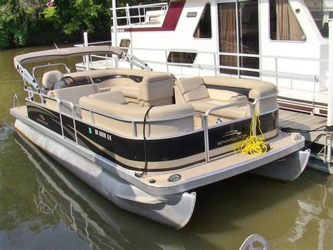 yamaha motor boat 2011 bennington 24 sli fully loaded pontoon boat 90 hp