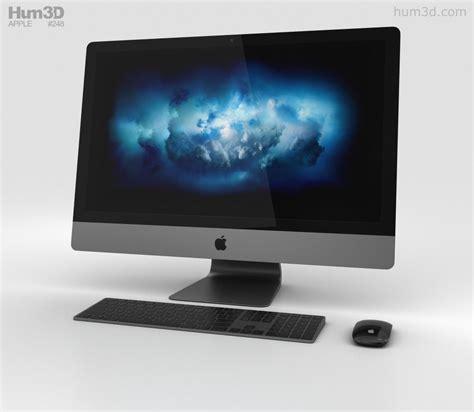 apple zoom apple imac pro 3d model hum3d