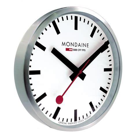 mondaine wall clock mondaine clocks crown jewellery