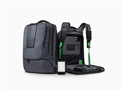 Daypack Kalibre Inventro this battery laden backpack charges your gadgets as you carry them wired