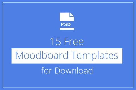 for free 15 free moodboard templates for designyep