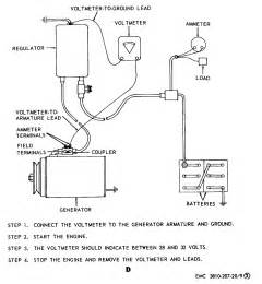 figure 9 generator regulator removal adjustment and test wiring diagram cont tm 5 3810