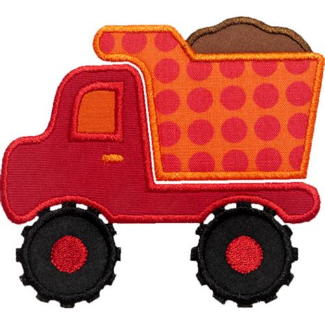 Dump Truck Applique Dump Truck by Dump Truck Applique Design