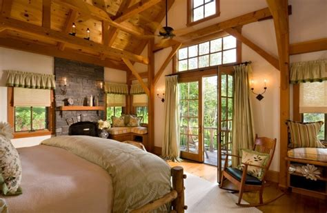 vermont home design ideas vermont timber frame residence traditional bedroom