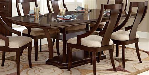 Homelegance Dining Table Homelegance Aubriella Pedestal Dining Set Cherry 5115 Dining Set At Homelement
