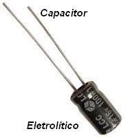 capacitor ou condensador capacitores