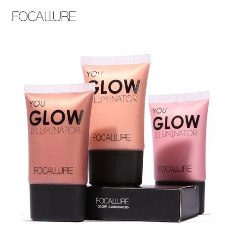 focallure gold highlighter makeup liquid glow illuminator contour brightener glow