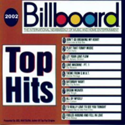 billboard top 100 house music image gallery billboard top 100 2002