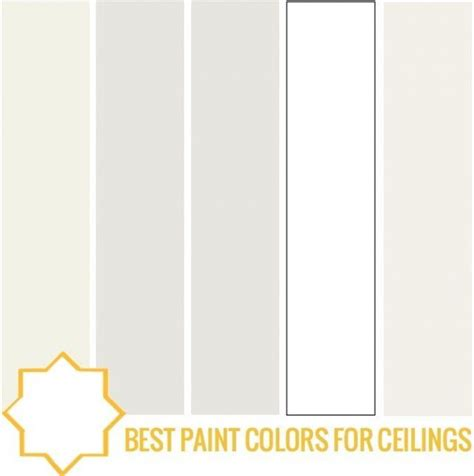 best paint colors for ceilings home sweet home