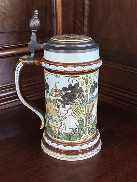 villeroy boch mettlach villeroy boch mettlach 2901 the brothers grimm stein