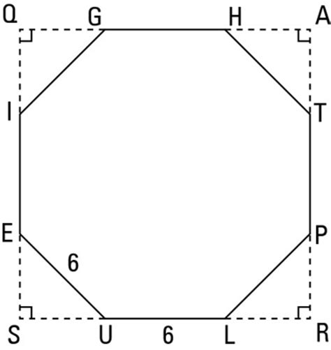area of a square calculator how to calculate the area of a regular octagon dummies