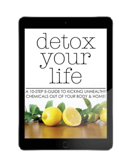 Unburdened Home Detox Guide by Are Chemicals Us The Science Says Yes